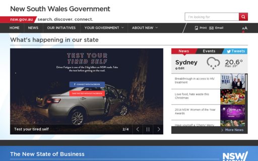 Access nsw.gov.au using Hola Unblocker web proxy