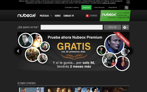 Access nubeox.com using Hola Unblocker web proxy
