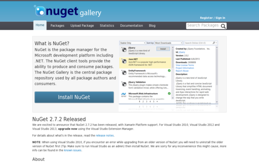 Access nuget.org using Hola Unblocker web proxy