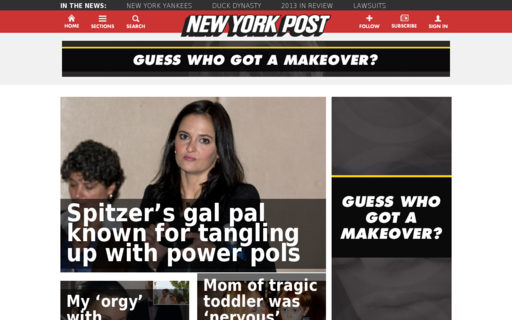 Access nypost.com using Hola Unblocker web proxy