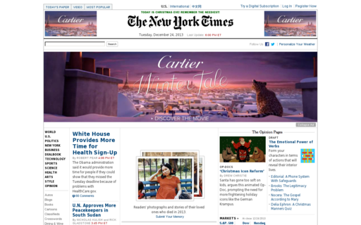 Access nytimes.org using Hola Unblocker web proxy