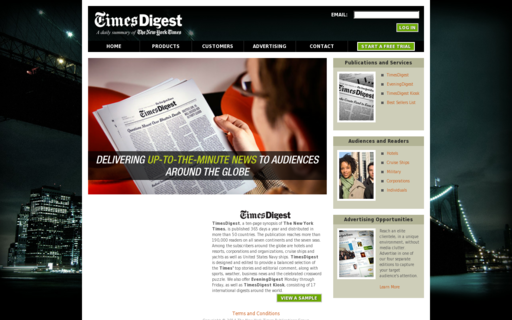 Access nytimesdigest.com using Hola Unblocker web proxy