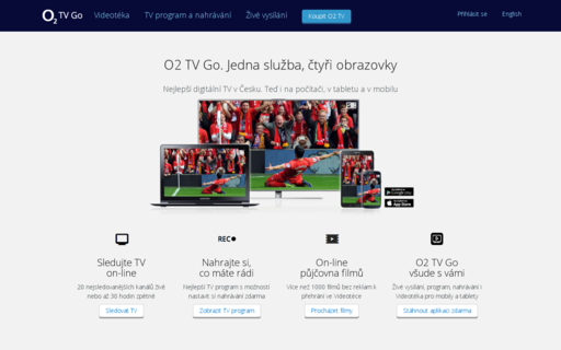Access o2tv.cz using Hola Unblocker web proxy