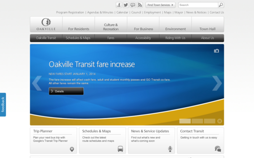 Access oakvilletransit.com using Hola Unblocker web proxy
