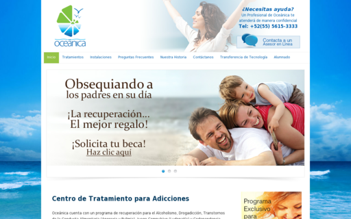 Access oceanica.com.mx using Hola Unblocker web proxy