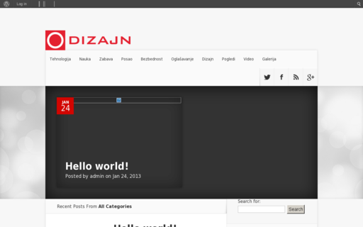 Access odizajn.com using Hola Unblocker web proxy