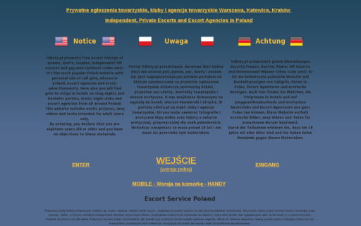 Access odloty.pl using Hola Unblocker web proxy
