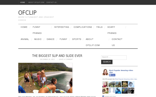 Access ofclip.com using Hola Unblocker web proxy