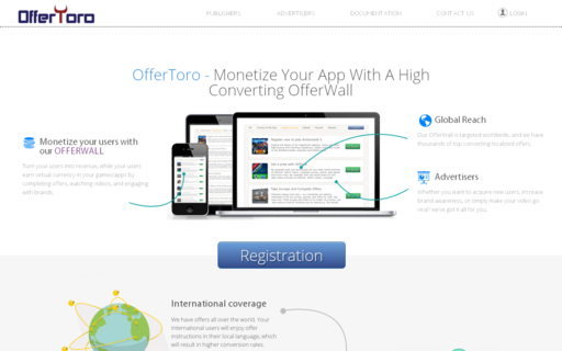Access offertoro.com using Hola Unblocker web proxy