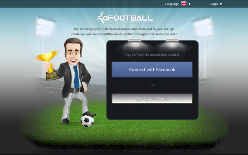Access ofootball.eu using Hola Unblocker web proxy
