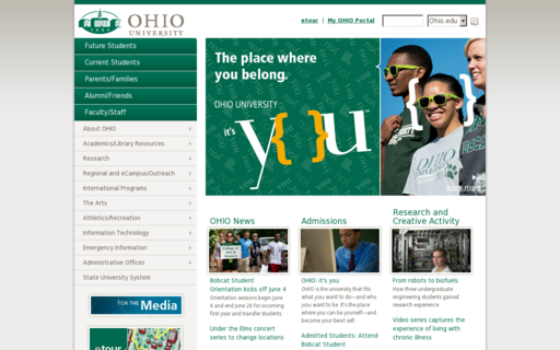 Access ohio.edu using Hola Unblocker web proxy