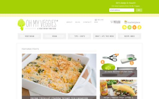 Access ohmyveggies.com using Hola Unblocker web proxy