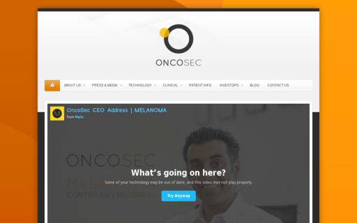 Access oncosec.com using Hola Unblocker web proxy