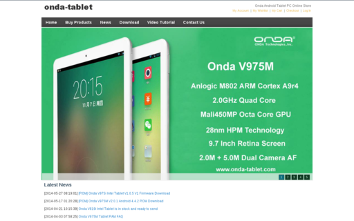 Access onda-tablet.com using Hola Unblocker web proxy