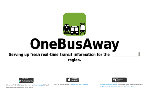 Access onebusaway.org using Hola Unblocker web proxy