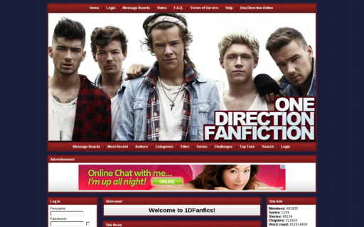 Access onedirectionfanfiction.com using Hola Unblocker web proxy