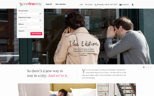 Access onefinestay.com using Hola Unblocker web proxy
