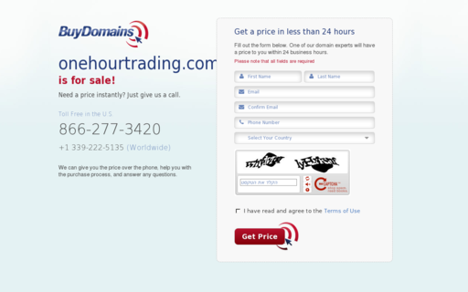 Access onehourtrading.com using Hola Unblocker web proxy