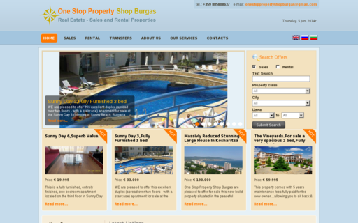 Access onestoppropertyshopburgas.com using Hola Unblocker web proxy