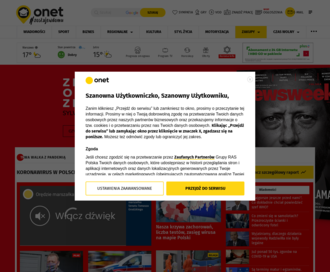 Access onet.pl using Hola Unblocker web proxy