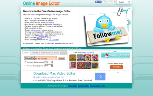 Access online-image-editor.com using Hola Unblocker web proxy
