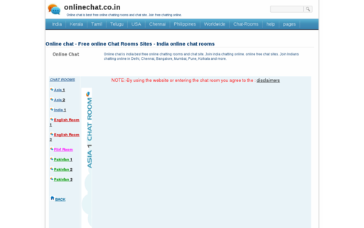 Access onlinechat.co.in using Hola Unblocker web proxy
