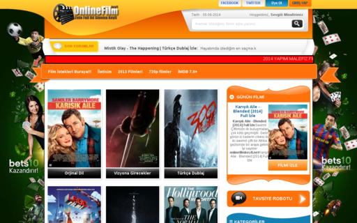 Access onlinefilmkeyfi.net using Hola Unblocker web proxy