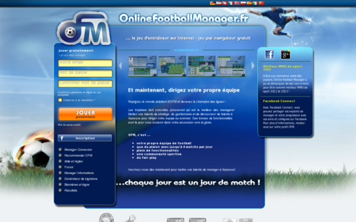 Access onlinefootballmanager.fr using Hola Unblocker web proxy