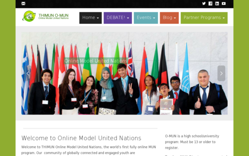 Access onlinemodelunitednations.org using Hola Unblocker web proxy