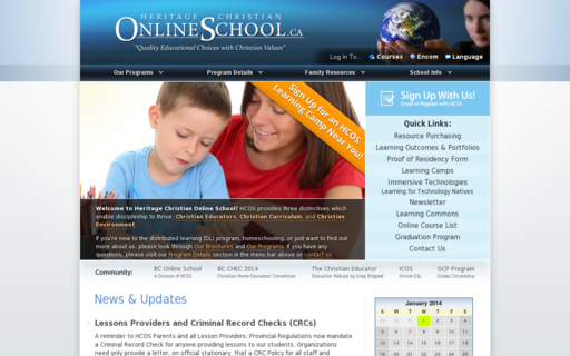 Access onlineschool.ca using Hola Unblocker web proxy