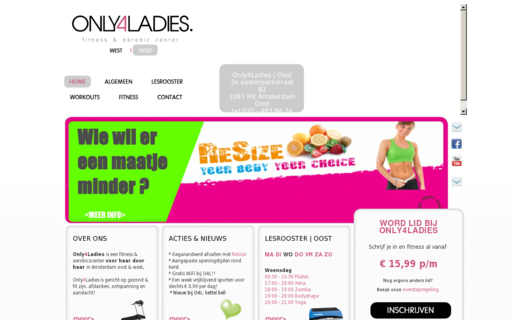 Access only4ladies.nl using Hola Unblocker web proxy