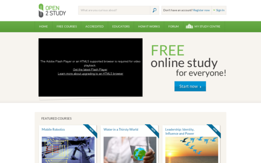 Access open2study.com using Hola Unblocker web proxy