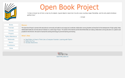 Access openbookproject.net using Hola Unblocker web proxy