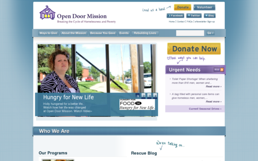 Access opendoormission.org using Hola Unblocker web proxy