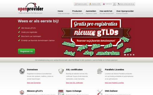 Access openprovider.nl using Hola Unblocker web proxy