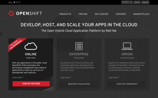 Access openshift.com using Hola Unblocker web proxy