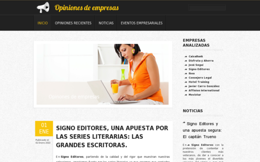 Access opinionesempresas.es using Hola Unblocker web proxy