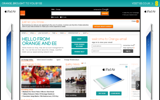 Access orange.co.uk using Hola Unblocker web proxy