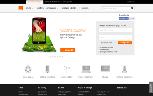 Access orange.pl using Hola Unblocker web proxy