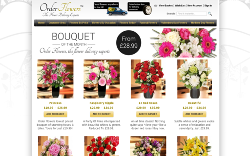 Access order-flowers.co.uk using Hola Unblocker web proxy
