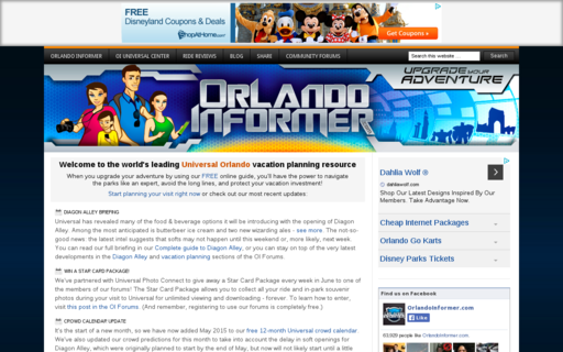 Access orlandoinformer.com using Hola Unblocker web proxy