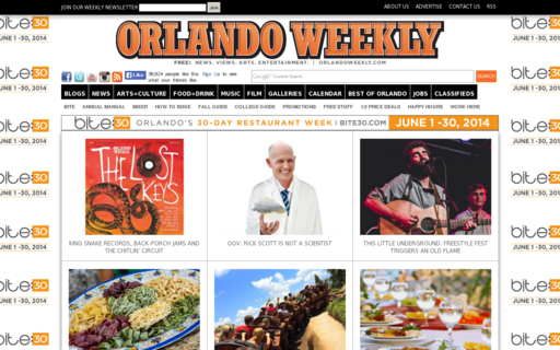 Access orlandoweekly.com using Hola Unblocker web proxy