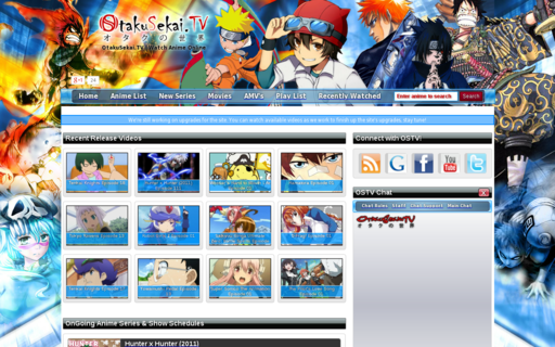 Access otakusekai.tv using Hola Unblocker web proxy