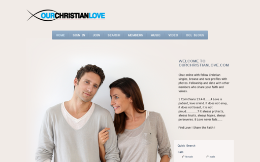 Access ourchristianlove.com using Hola Unblocker web proxy