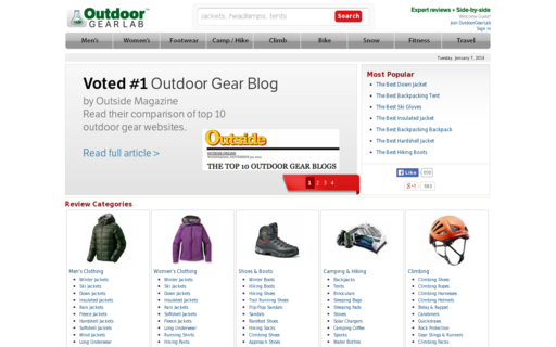Access outdoorgearlab.com using Hola Unblocker web proxy