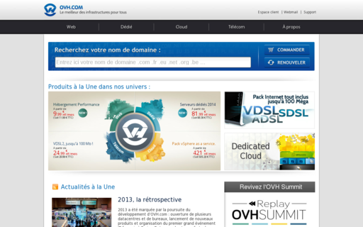 Access ovh.com using Hola Unblocker web proxy