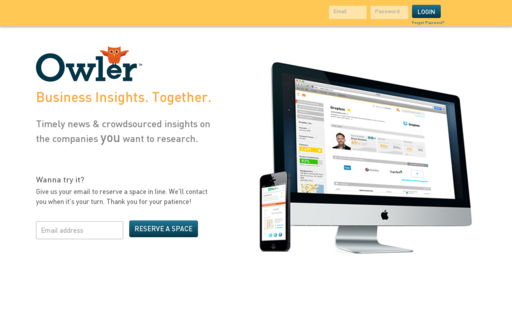 Access owler.com using Hola Unblocker web proxy