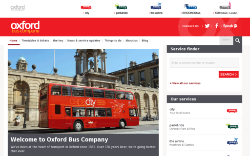 Access oxfordbus.co.uk using Hola Unblocker web proxy