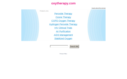 Access oxytherapy.com using Hola Unblocker web proxy