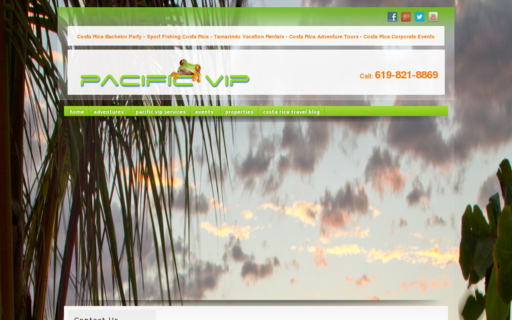 Access pacificvip.com using Hola Unblocker web proxy